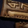 Hand carved DStrap