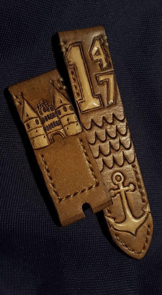 Hand Carved Watch Strap Horlogeband
