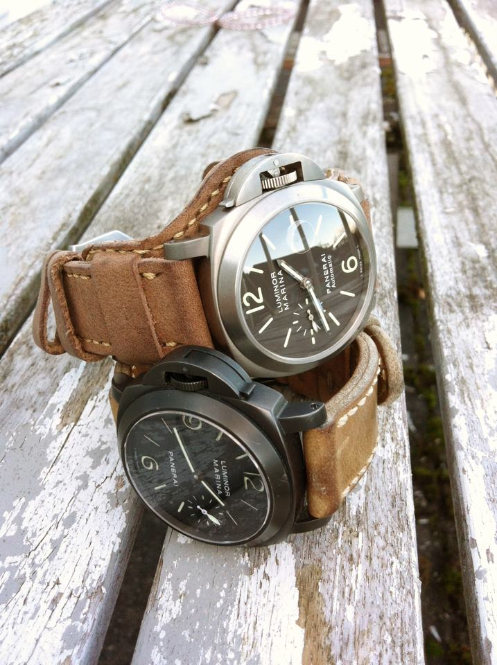 Custom And Handmade Leather Bund Panerai
