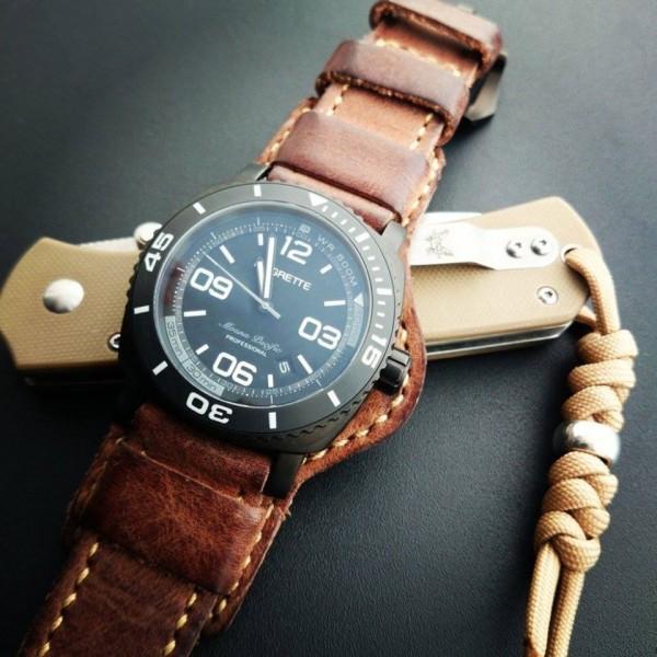 Leather Bund Pad Custom Made Www Dstrap Com